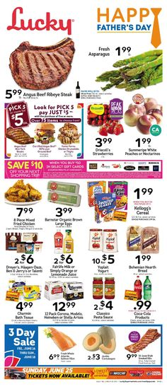 Lucky Weekly Ad June 14 - 20, 2017 - http://www.olcatalog.com/lucky-supermarkets/lucky-weekly-ad.html