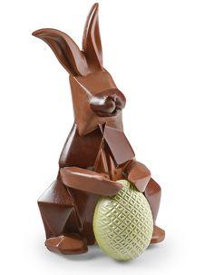 Chocolats de Pâques : Le lapin Origami