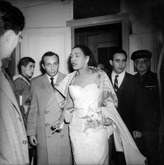 Billie Holiday in Olympia, November 1958