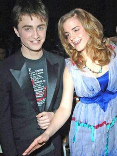 Daniel Radcliffe and Emma Watson