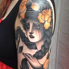 electrictattoos:  Danielle Rose