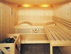 Modern  Home Sauna design