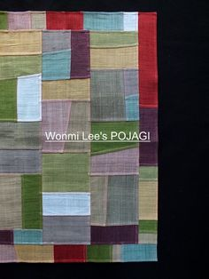 Textiles, Types Of Craft, Korean Traditional, Fabric Squares, Hand Sewing, Quilts, Blanket, Knitting, Crafts