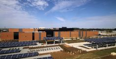 Novartis's Alcon Laboratories campus in Texas includes a 37,000 sq. ft. data center with 100kw PV array for on-site power.