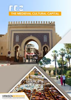 Authentic fantasies coming true. Alter your way of dreaming and travel to medieval Fez, Morocco this year. Fez Morocco, Marrakech, Holiday Destinations, Travel Destinations, Cultural Capital, Cheap Holiday, Morocco Travel, Cheap Travel, Family Travel