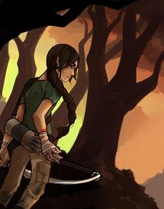 Fan art often focuses on Katniss' determination and the physical toll the Games take on her.