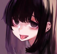 Art Anime, Anime Art Girl, Manga Art, Anime Manga, Dark Anime Girl, Anime Girl Neko, Foto Cartoon, Yandere Girl, Gothic Anime