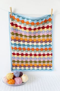 A bundle of four modern crochet baby blanket patterns for you to make. Great to make with full instructions. Includes lots of photos to guide you through making all of these lovely bright blankets for your baby or as a wonderful, colourful gifts. All patterns include the multiples or