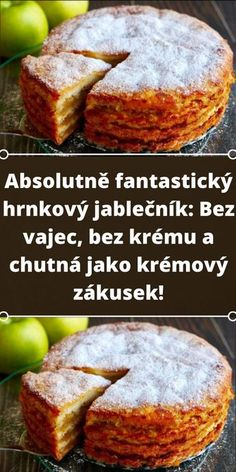 Vegan Dessert Recipes, Delicious Desserts, Chia Puding, Czech Recipes, Sweet Recipes, Pound Cake, Good Food, Food And Drink, Favorite Recipes