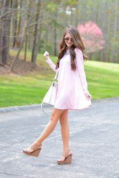 Photo from Southern Curls & Pearls | Baby Pink