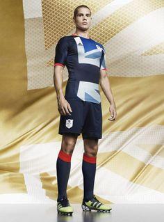 UK football team shirt for the London Olympics. So classy ! / Maillot de l'équipe de foot du Royaume-Uni pour les Jeux de Londres. La classe !