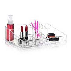 XL copenhagen #akryl boksen til #opbevaring af meget #makeup | makeover-styling.dk