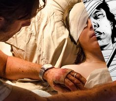 The Walking Dead - TV vs Comics (Carl's coma)