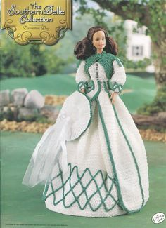 "The Southern Belle Collection - Decoration Day - Annie's Attic Crochet Pattern Leaflet for 11 1/2"" Fashion Doll New Condition VeryMaryKnitCrochet 8.00 USD September 29 2015 at 01:24PM"