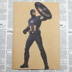Captain America Civil War Retro Poster - Vintage Movie posters – Superhero Universe