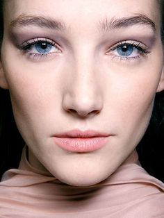 nude taupe eyeshadow and rose lipstick | allure.com