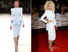Rita Ora In Mulger – 2012 MOBO Awards