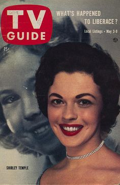 TV Guide May 3-9, 1958 (Shirley Temple) by The Pie Shops, via Flickr