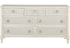 Harlowe Ivory Dresser. $599.99. 68W x 18.5D x 37H. Find affordable Dressers for your home that will complement the rest of your furniture.