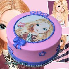 Topmodel cake