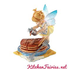 #1 Mom Pancake Fairie - From Series Sixteen of the My Little Kitchen Fairies collection