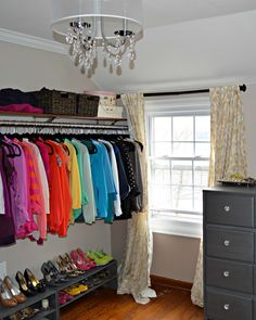 """Inspired Wives: Dressing Room / Walk in Closet Tour"" SOON! Or I'll go nuts. Seriously."