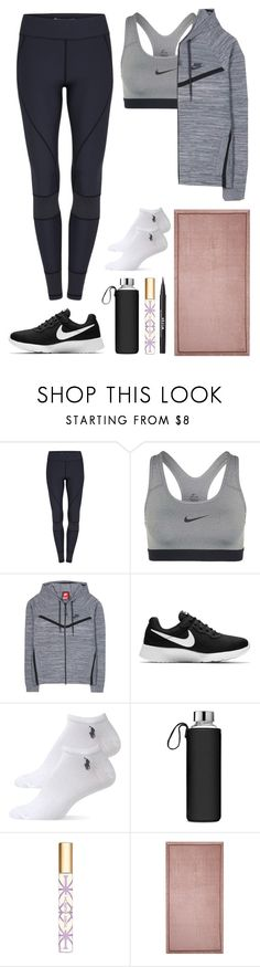 """""""6.135"""" by katrinattack ❤ liked on Polyvore featuring NIKE, Ralph Lauren, Tory Burch, Alessandro Di Marco, Stila, gym, activewear, offtothegym, polyvorefashion and gymessentials"""