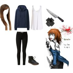"""Clockwork (Creepypasta)"" by fangirlinspace on Polyvore"