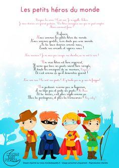 Partition_Les petits héros du monde Superhero Classroom Theme, Classroom Themes, Heros Disney, Teaching French, Anchor Charts, Smurfs, Coloring Books, Avengers, Animation