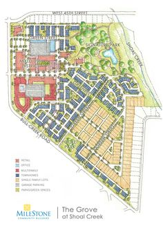 Plans revealed for Rosedale neighborhood development Site Development Plan, Mixed Use Development, Urban Design Concept, Urban Design Plan, City Skylines Game, City Collage, City Layout, Urban Road, Site Plans