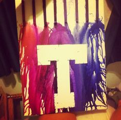 My crayola Tarleton canvas that I made. Super proud of this one!  -Shawney