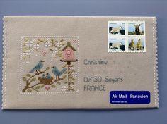 Enveloppe #103-2015 (recto)