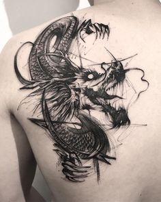 Graues Drachentattoo dragon tattoo tattoo tattoo designs tattoo for men tattoo for women tattoo tattoo tattoo tattoo tattoo tattoo tattoo tattoo ideas big dragon tattoo tattoo ideas Tattoo Drawings, Body Art Tattoos, New Tattoos, Sleeve Tattoos, Tattoos For Guys, Tatoos, Tattoo Arm, Grey Tattoo, Best Tattoo