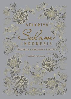 Indonesian Embroidery Book