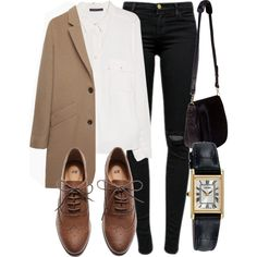 A fashion look from July 2015 by laurenmboot featuring Violeta by Mango, A.P.C., J Brand, H&M, Nomadic, Jeweliq and Seiko