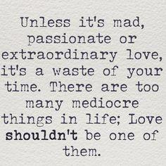 Shoot for extraordinary love