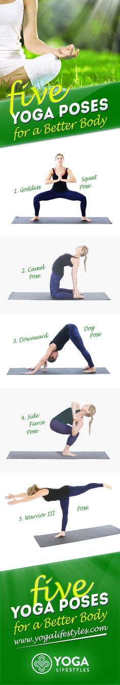 Yoga exercises do not only tighten your muscles but also increase the energy levels and flexibility, strengthen the body and improve your health, as well as relieve stress. All this can be done through these simple and effective poses!