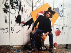 Jean-Michel Basquiat photographed by Gianfranco Gorgoni, 1982