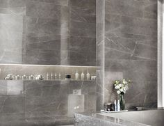 traditional bathroom tile by Julian Tile Marble Look Tile, Marble Effect, Traditional Tile, Traditional Bathroom, Concorde, Italian Traditions, Interior And Exterior, Interior Design, Atlas