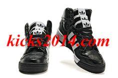 new product 7574b f2b0b Men White Black Adidas JS Three Tongue Trainers