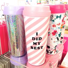 Just when we thought a travel mug couldn't get any cuter...NEW ban.do arrives and they became our instant faves.