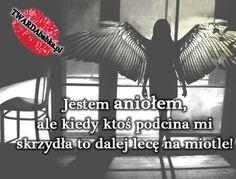 Taki ze mnie anioł! Motto, Jokes, Wisdom, Movie Posters, Husky Jokes, Film Poster, Memes, Mottos, Funny Pranks