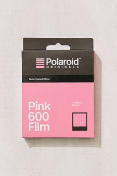 Polaroid Originals Black + Pink Duochrome 600 Instant Film | Urban Outfitters