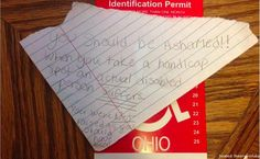 Mother Responds Brilliantly to Note Left on Disabled Daughter's Car