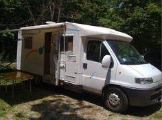NOLEGGIO camper semintegrale 4 posti