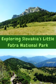 Slovakia offers amazing national parks to explore that no one really knows about! One of them is Little Fatra (Malá Fatra) National Park. Good Introduction, Photo Essay, Eastern Europe, Dream Vacations, Places To See, Exploring, Travel Tips, National Parks, Fishing