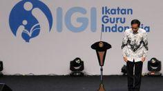 Presiden Jokowi Minta Para Guru Ajarkan Nilai Ke-Indonesia-an
