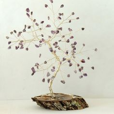 Shop Crystal Wire Trees on Wanelo