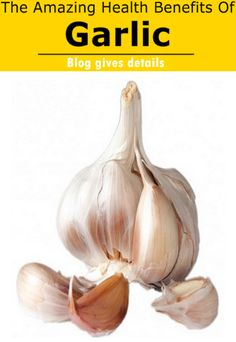 It has been shown that garlic has the ability to regulate and moderately lower triglycerides and total cholesterol in the blood and even reduce the risks of arteries blockage. Medical experts recommended chewing one or two cloves of garlic a day. Click here http://www.veggieteam.com/2015/01/the-amazing-health-benefits-of-garlic.html to read more...