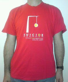 yo-yo suicide maglietta nazionali 2007  grafica regolare